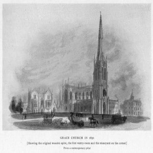 Grace Church in 1850
